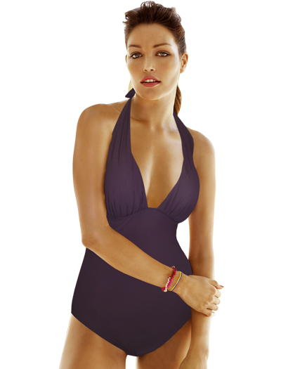 Anita Heliotrope Jolie One Piece Swimsuit 7763 - Violet
