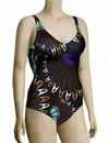Anita Indian Shallow Carina One Piece Swim 7753 - Brown