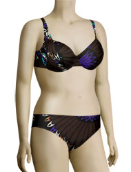 Anita Indian Shallow Henny II Bikini Set 8833 - Brown
