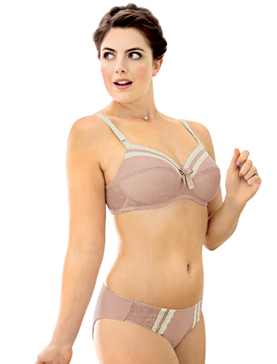Anita Maternity Cherry Blush Wire-Free Nursing Bra 5046 - Mellow Rose