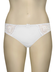 Anita Rosa Faia Ella Brief 1423 - White