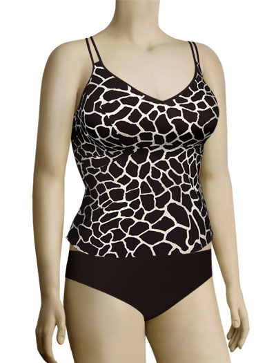 Anita Savanna Tricia Tankini Set 8709 - Brown
