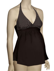 Anita Savanna Varo Maternity Tankini 9615 - Safari