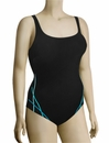 Anita Summer Light Vida One Piece Swimsuit 7804 - Black