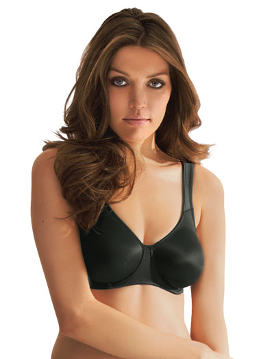 Anita Twin Range Seamless Underwire Bra 5490 - Black