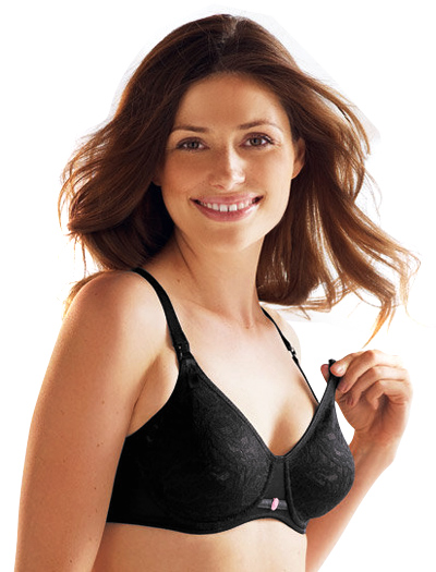 Anita Underwired Nursing Bra 5041 - Black