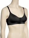 Annette Front Closure Surgery Bra 10479 - Black