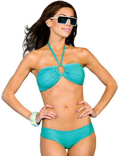 B. Swim Betty Bandeau Bikini Top U42 - Bondi