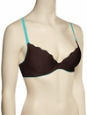 B.tempt'd B. Wow'd Plunge Bra 958187 - Choc. / Blue