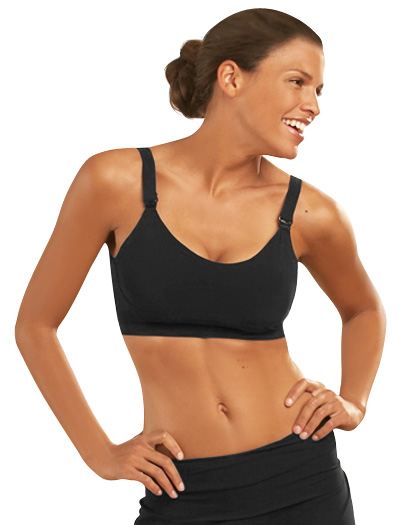 Bella Materna Nursing Sports Bra 1156 - Black