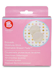 Bravado Moisture Wick Washable Breast Pads 9007 - Creme