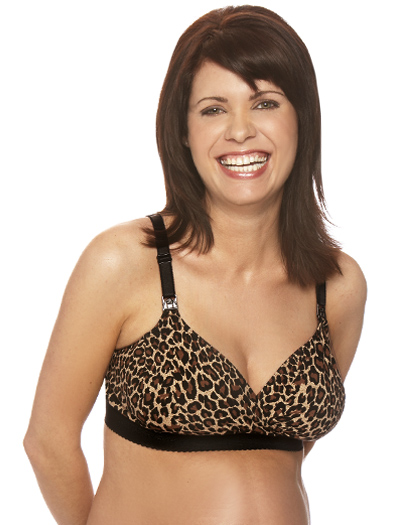 Bravado Original Basic Nursing Bra Plus 1012 - Leopard
