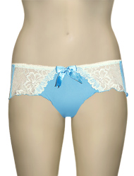Cake Lingerie Sherbet French Knicker 35-1012-39 - Cyan Blue