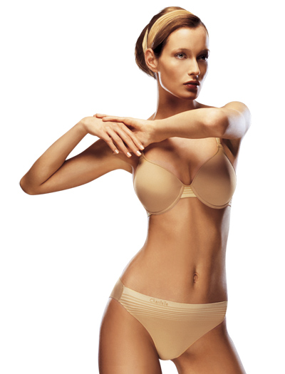 Chantelle Body Sculpt T-Shirt Bra 2895 - Toffee