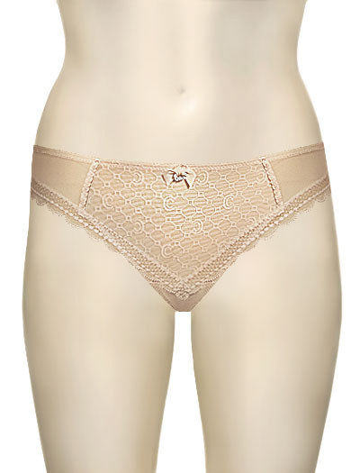 Chantelle C Chic Brazilian Panty 3643 - Perfect Nude
