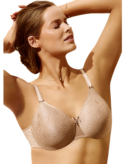Chantelle C Magnifique Seamless Molded Underwire Bra 1891 - Ultra Nude