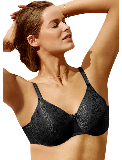 Chantelle C Magnifique Seamless Molded Underwire Bra 1891 - Black