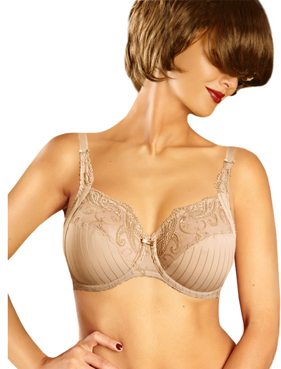 Chantelle Cachemire 3 Part Underwire Bra 3371 - Perfect Nude
