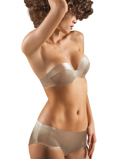 Chantelle Haussmann Invisible Cups Strapless Bra 3316 - Ultra Nude