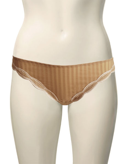 Chantelle Legende Tanga 2989 - Coffee