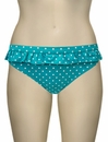 Cleo Panache Betty Frill Pant CW0039 - Aquamarine