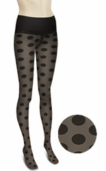 Commando Dig-Free Luxury Legwear Big Dot Premier Sheer H10T7 - Big Dot