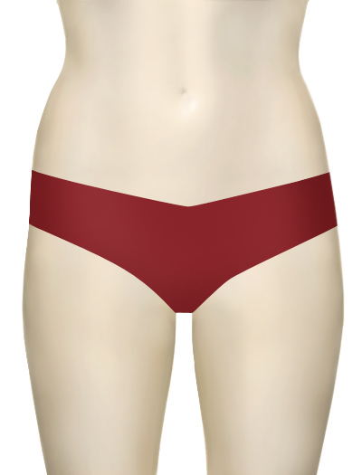 Commando Low-Rise Thong CT - Ruby