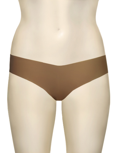 Commando Low-Rise Thong CT - Dark Nude