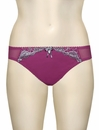 Curvy Kate Dare Thong SG2402 - Berry / Silver