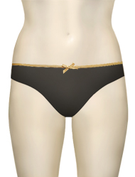 Curvy Kate Ellace Thong CK4402 - Black / Champ