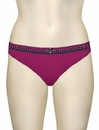 Curvy Kate Gia Thong CK2102 - Berry / Black