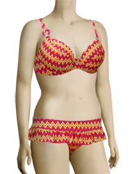 Curvy Kate Shockwave Padded Bikini Top CS1211 - Sunset