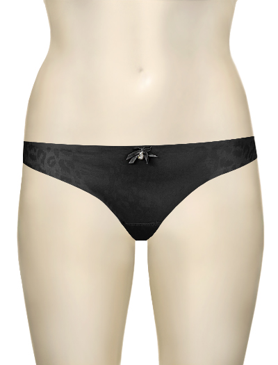Curvy Kate Smoothie Thong CK2402 - Wild Black