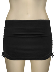 Curvy Kate Swim Skirt w/ Attached Brief CS1655 - Black
