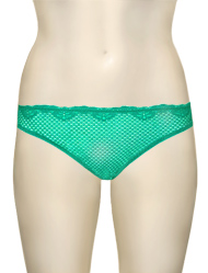 Timpa Duet Lace Panty 630473 - Pool Green