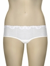 Timpa Duet Lace Shorty 630470 - White