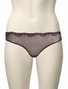 Timpa Duet Lace Tanga 615700 - Chocolate