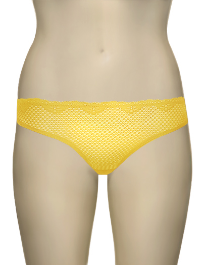 Duet Timpa Lace Thong 615700 - Yellow