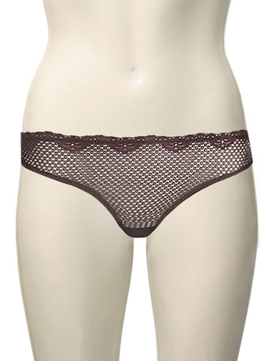 Duet Timpa Lace Thong 615700 - Chocolate