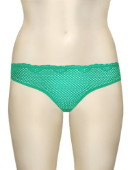 Duet Timpa Lace Thong 615700 - Pool Green