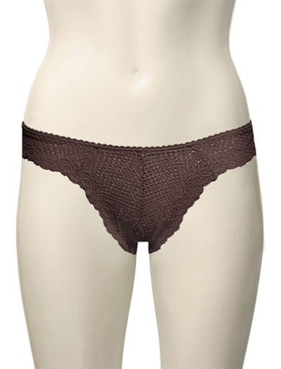 Duet Timpa Lace Thong 615288 - Chocolate