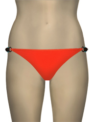 Eda Sevilla Brief With Side Bead Detail ES278-23 - Tangerine