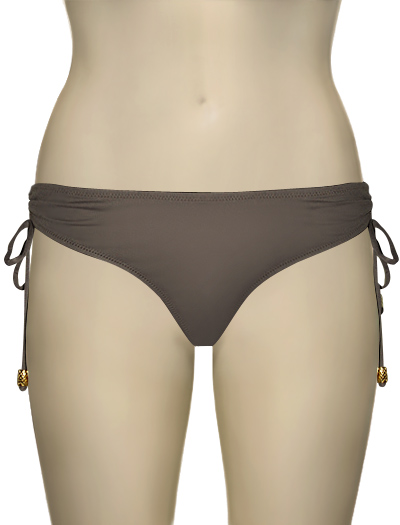 Eda Simona Ruched Brief ES094-19 - Taupe