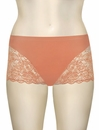 Elila Cheeky Stretch Lace Bottom 3311 - Coral