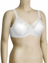 Elila Embroidered Underwire Bra 2301 - White