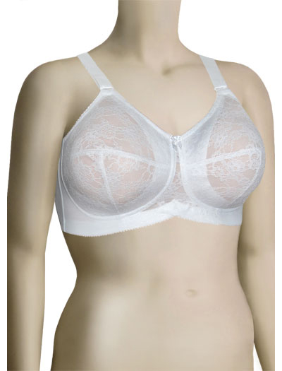 Elila Lace Soft Cup Bra 1303 - White