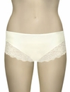 Elila Microfiber and Stretch Lace Panty 3309 - Ivory