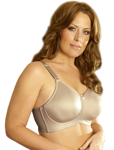 Elila Seamless Moulded Soft Cup Bra 1803 - Nude
