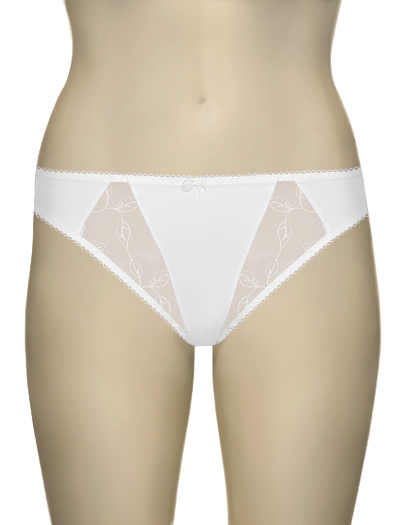 Elomi Occasions Thong EL8270 - White