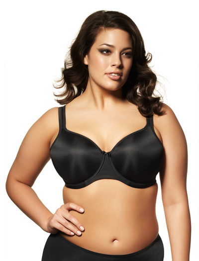 Elomi Smoothing Moulded Bra EL1220 - Black
